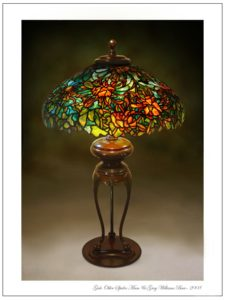 Tiffany Lamp Base Restoration