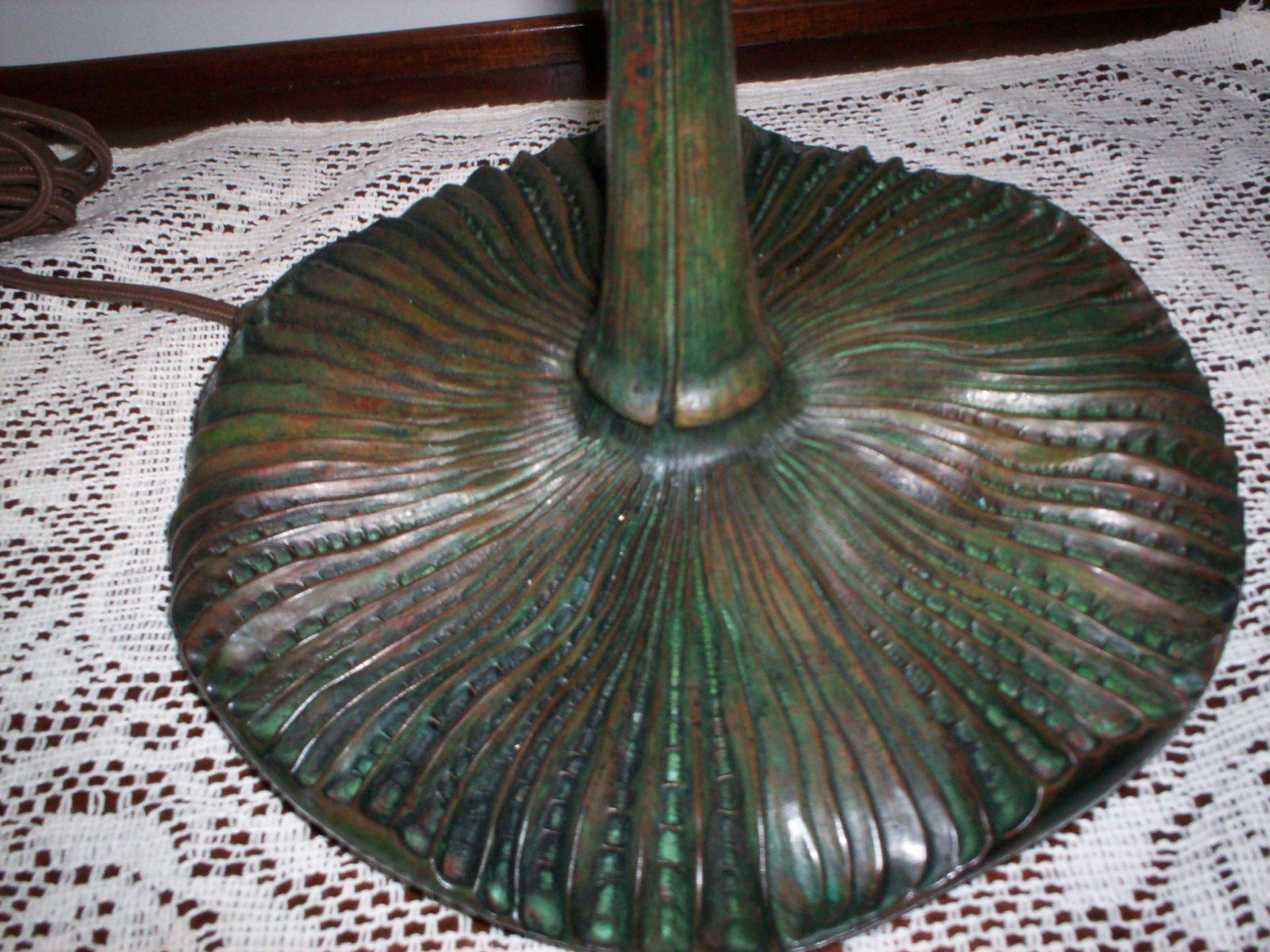 Restored Tiffany Lamp Base